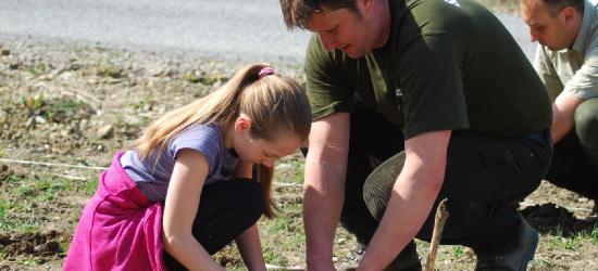 Tysiąc drzewek zasadzili uczniowie bieszczadzkich szkół (ZDJĘCIA)