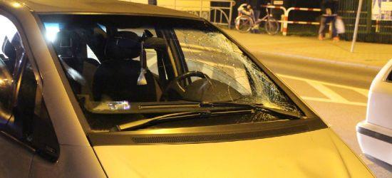 SANOK: Potrącenie pieszego na ulicy Jagiellońskiej (ZDJĘCIA)