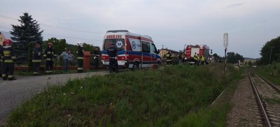Tragiczny wypadek w Pisarowcach. Zginął mężczyzna przygnieciony przez kosiarkę (FOTO)
