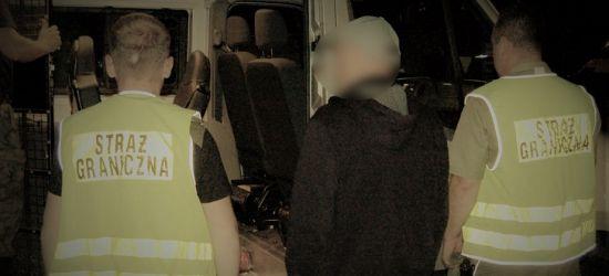 Na granicy zatrzymano podejrzanego o napady z bronią w ręku (FOTO)