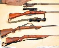 Niewielki arsenał w domu mieszkańca gminy Komańcza
