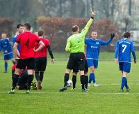 Kontrowersyjny karny rozstrzyga derby. W pojedynku wychowanków Stali, górą piłkarze LKSu (SKRÓT VIDEO, ZDJĘCIA)