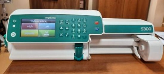 Nowy sprzęt w sanockim szpitalu. Pomoże w leczeniu chorych na COVID-19 (ZDJĘCIA)