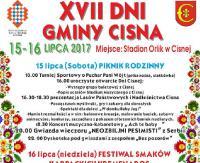 BIESZCZADY24.PL : XVII Dni Gminy Cisna 15 -16  lipca 2017