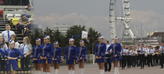 """Sanocka orkiestra zadebiutowała w Europie. """"Avanti"""" na święcie siatkarskim w Londynie"""