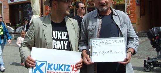 Akcja REFERENDUM #podpiszBronek rozpoczęta