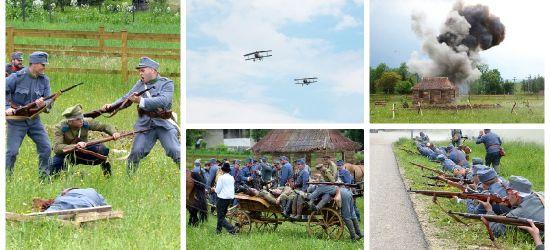 GMINA BESKO: Atak z powietrza, wystrzały artyleryjskie i krwawa walka. Efektowna rekonstrukcja (VIDEO, FOTO)