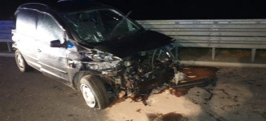 Śmiertelny wypadek na podkarpackim odcinku autostrady (ZDJĘCIA)