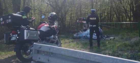 Niebezpiecznie na serpentynach. Zderzenie motocyklistów! (FOTO)