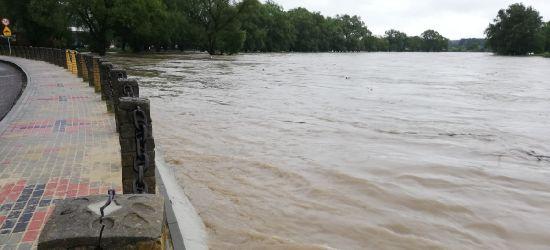 SANOK: Woda coraz bliżej Skansenu (VIDEO, FOTO)