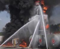 BEZ KOMENTARZA: Chińskie roboty gaśnicze (ZOBACZ VIDEO)