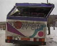 O wypadku hokeistów STSu w archiwalnym materiale video. Wspomnienia zawodników, którzy byli w autobusie (FILM)
