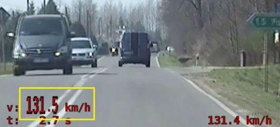 Pijany kierowca volkswagena jechał z prędkością 131 km/h (VIDEO)