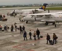 REGION: Awanturnik w samolocie