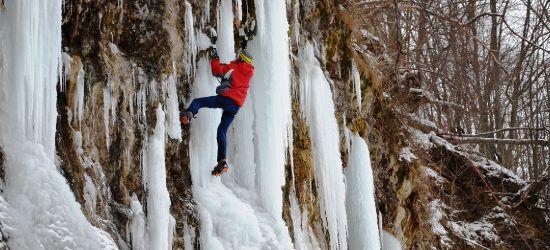 Widzieliście tegoroczne lodospady w Rudawce Rymanowskiej? (FOTORELACJA)