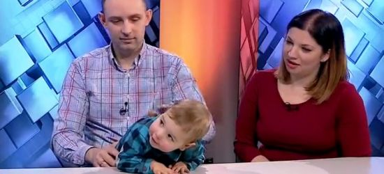 Walka o zdrowie Julka trwa! Zobacz wywiad video (FILM)