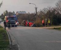 AKTUALIZACJA: Tragedia w Niebieszczanach. Kierowca daewoo śmiertelnie potrącił 12-letniego rowerzystę (ZDJĘCIA)