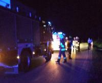 Wypadek motorowerzysty. 16-latek uderzył w bariery energochłonne (ZDJĘCIA)