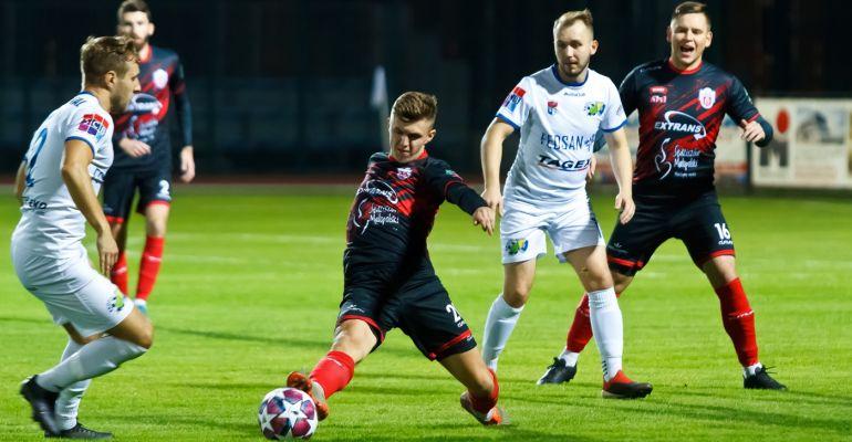 Pewne zwycięstwo! Dwa gole Sebastiana Sobolaka (SKRÓT MECZU, ZDJĘCIA)