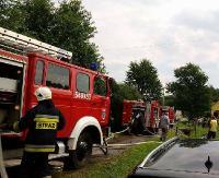 KRONIKA STRAŻACKA: Alarm pożarowy w szpitalu i kościele, potrącenie pieszego i dachowanie