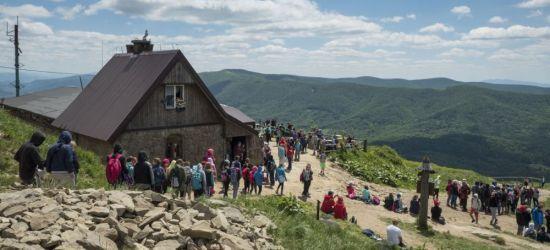 W Bieszczadach turystów sporo, ale mniej niż przed rokiem