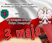 Uroczyste obchody Święta Konstytucji w Zagórzu. Zobacz program