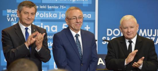 KACZYŃSKI W SANOKU: Wielka szansa dla Autosanu! Rząd chce uruchomić tu produkcję autobusów elektrycznych (FILM, ZDJĘCIA)