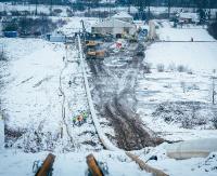 STRACHOCINA/HERMANOWICE: Prace przy gazociągu. 30 procent nitki już jest w ziemi (ZDJĘCIA)