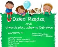 """NIEDZIELA: Otwarcie Placu Zabaw """"Brykalnia"""" połączone z piknikiem dla Kamila (ZDJĘCIA)"""