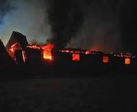 Pożar zakładu drzewnego. Straty na ponad 4 miliony złotych (ZDJĘCIA)