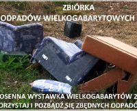 GMINA ZAGÓRZ: Wiosenna zbiórka odpadów wielkogabarytowych – przypomnienie