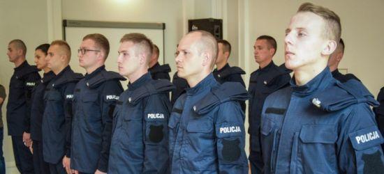 Ślubowanie nowo przyjętych policjantów (FOTO)
