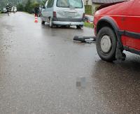 POWIAT BRZOZOWSKI: W wypadku uczestniczyły 3 pojazdy. Kobieta i dwoje dzieci trafiło do szpitala (ZDJĘCIA)
