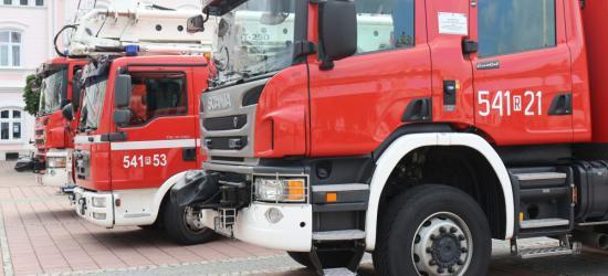 KRONIKA STRAŻACKA: Pożary samochodów i kolizja z policją