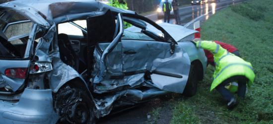 AKTUALIZACJA TRAGEDIA W ZAGÓRZU: W zderzeniu dwóch pojazdów zginęły trzy osoby, jedna została ranna (FILM, ZDJĘCIA)