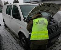 Pogranicznicy z Sanoka zatrzymali samochód skradziony… 9 lat temu (ZDJĘCIA)