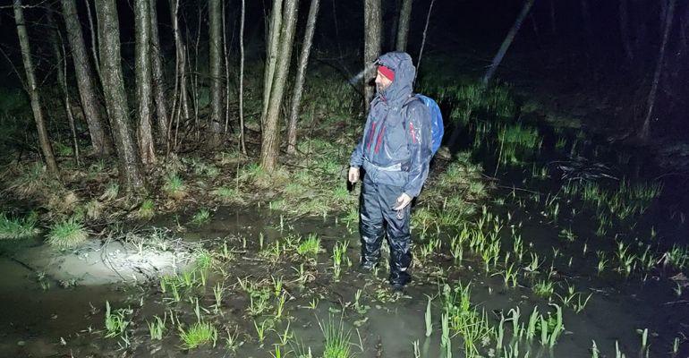 Strażacy z Niebieszczan wzięli udział w poszukiwaniach 28-latka (ZDJĘCIA)