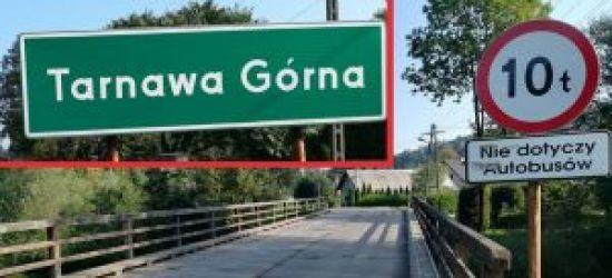 Nowy most w Tarnawie Górnej jeszcze w tym roku