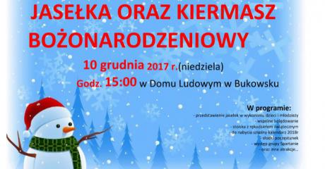 Jasełka i Kiermasz Bożonarodzeniowy w Zespole Szkół w Bukowsku