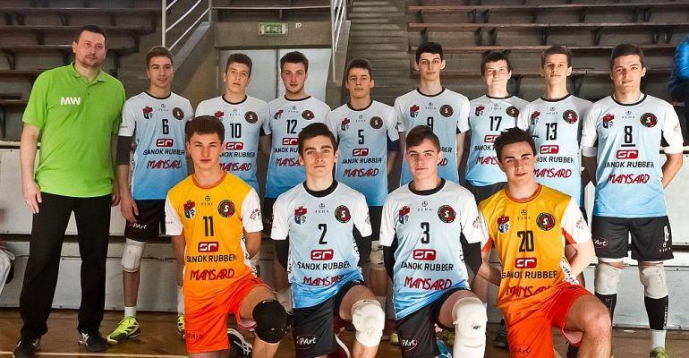 TSV SANOK: Młodzi siatkarze z pierwszym zwycięstwem w ćwierćfinale MP!