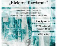 """""""Błękitna Kawiarnia"""". Promocja książki Kalmana Segala w najbliższą sobotę"""