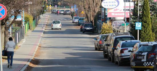 Ulica Podgórze w Sanoku do remontu. Wspólnymi siłami miasta i powiatu (FILM, ZDJĘCIA)