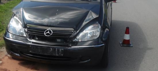 7-latka w szpitalu. Mercedes najechał na tył nissana (FOTO)