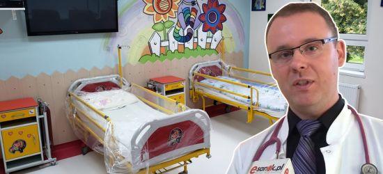 SANOK. Ważny remont na oddziale dziecięcym. Pediatria znów otwarta!