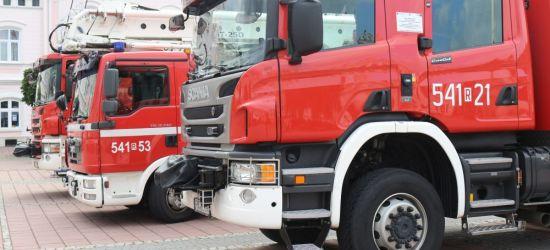 KRONIKA STRAŻACKA: Pożar samochodu, dachowanie i płonące trawy