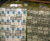 Nielegalne papierosy o wartości 45 tys. złotych w domu i samochodzie