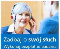 ZAGÓRZ: Bezpłatne badania słuchu