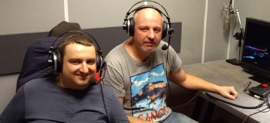 Trener Ciarko KH 58 komentował mecze hokeja dla Polsatu Sport (FOTO)