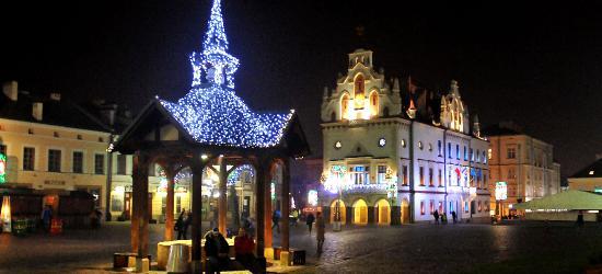 Rzeszów zabłysnął tysiącami lampek. Zobacz świąteczne dekoracje w stolicy województwa (ZDJĘCIA)