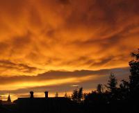 ZARSZYN: Urzekające i pełne kolorów zachody słońca (ZDJĘCIA)